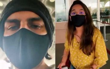 Kartik Aaryan's Sister Kittu Tries To Check-in Her March Flight At The Airport; Actor Shares The Hilarious Video While Calling Her The 'Most Educated Sibling'
