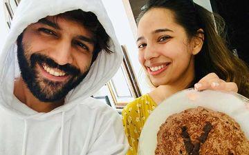 Kartik Aaryan Celebrates Sister Kritika's B'Day Amid Lockdown; Surprises Her With Homemade 'Cake-Cum-Biscuit'