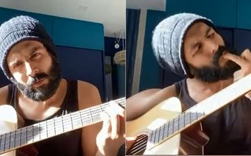Kartik Aaryan Playing Guitar In This HILARIOUS Video Can Give Musicians A Run For Their Money; Netizens Are Digging His 'Kabir Singh' Look