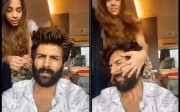 Kartik Aaryan Gets A TIGHT Slap From His Sister; His Quarantine Life Is All About 'Utho Nahao Pito So Jao'-WATCH VIDEO
