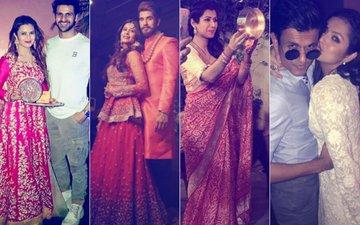 LOVE IS IN THE AIR: Divyanka-Vivek, Kishwer-Suyyash, Karan-Ankita, Drashti-Neeraj Celebrate Karva Chauth