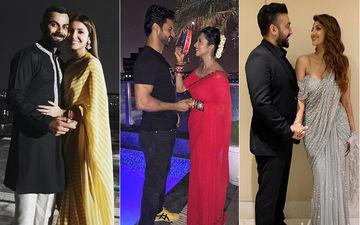 Karwa Chauth 2018: Anushka Sharma-Virat Kohli, Divyanka Tripathi-Vivek Dahiya, Shilpa Shetty-Raj Kundra Celebrate Love