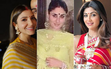 Karwa Chauth 2019: Check Out Saree And Suit Trends For Women Inspired By Actresses Anushka Sharma, Kareena Kapoor Khan, Shilpa Shetty