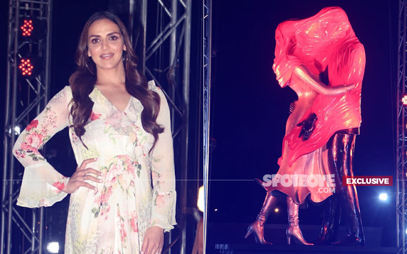 Kasautii Zindagii Kay 2: Esha Deol Unveils 'Sculpture Of Love', Wishes People Propose Here