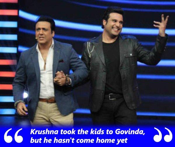 kashmera shah on govinda s equation with the kids