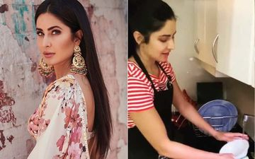 Coronavirus Lockdown: Katrina Kaif  Does The Dishes By Hand; Fans Notice Water Being Wasted, 'Turn Off The Tap First'