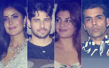 Katrina Kaif, Sidharth Malhotra, Jacqueline Fernandez & Karan Johar Attend Pooja Shetty's Birthday Bash