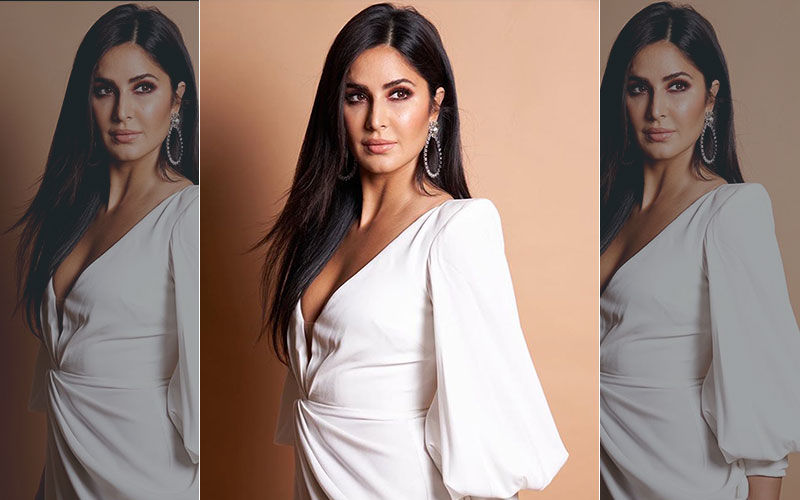 Katrina Kaif's Sizzling White Gown With A Plunging Neckline And Balloon Sleeves Is Expensive AF, You Guys