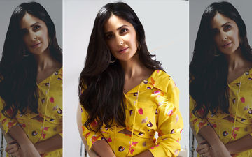 Katrina Kaif Looked Like A Sexy Guldasta In Her Yellow Floral Dress