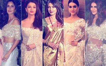 BEST DRESSED & WORST DRESSED At Virushka's Mumbai Reception: Katrina Kaif, Aishwarya Rai, Priyanka Chopra, Kriti Sanon Or Vaani Kapoor?