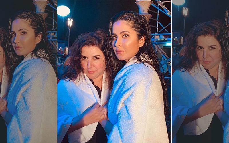 Towel Series Continues! Katrina Kaif Shares An Adorable Photo Of 'Mummy' Farah Khan From Sets