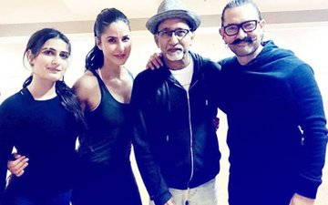 Dance Baby Dance! Katrina, Aamir, Fatima Sweat It Out During Rehearsals For Thugs Of Hindostan