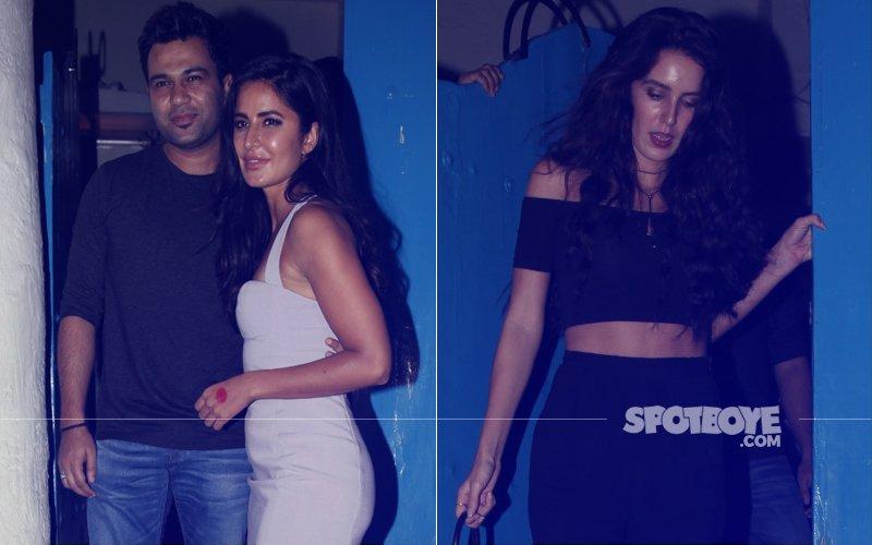 Katrina Kaif & Isabelle At Ali Abbas Zafar's Birthday Bash - View Pics