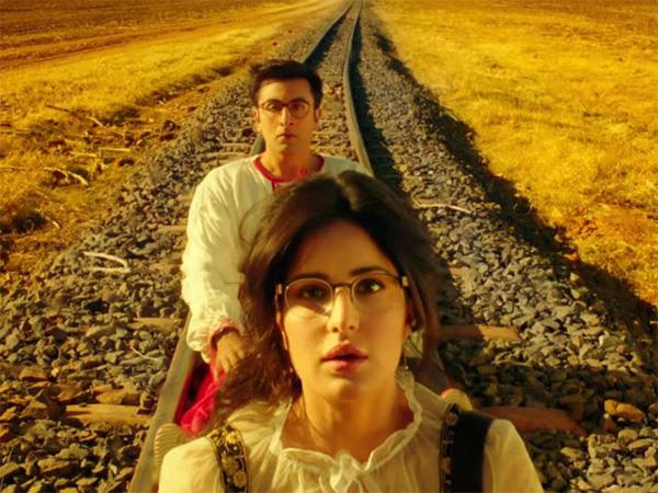 katrina kaif and ranbir kapoor in jagga jasoos trailer