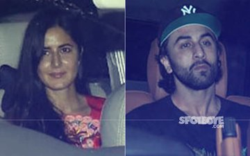 Katrina Kaif & Ranbir Kapoor Attend Jagga Jasoos Screening