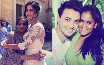 सलमान खान की मां के साथ कैटरीना कैफ की तस्वीर को डिलीट कर दिया था अर्पिता ने, आयुष शर्मा ने बताई वजह