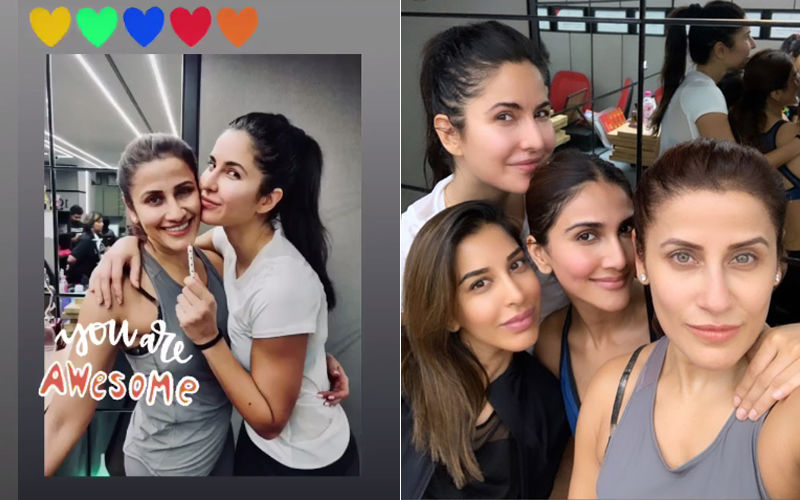 Katrina Kaif Celebrates her Trainer's Birthday Amidst Loads Of Fun And Merriment; Pics & Videos Inside