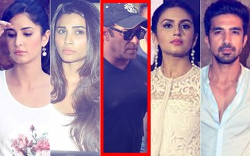 Salman Khan Back Home: Katrina, Daisy, Huma, Saqib Reach Galaxy