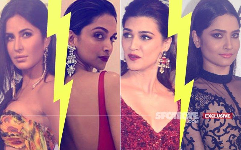 Well-Timed ENTRY & EXIT: Katrina Kaif-Deepika Padukone, Kriti Sanon-Ankita Lokhande Avoid FACE-OFF