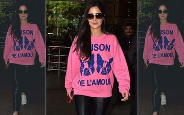 Katrina Kaif In A Pink Gucci Sweater- Oh, Boy Or Oh, No?