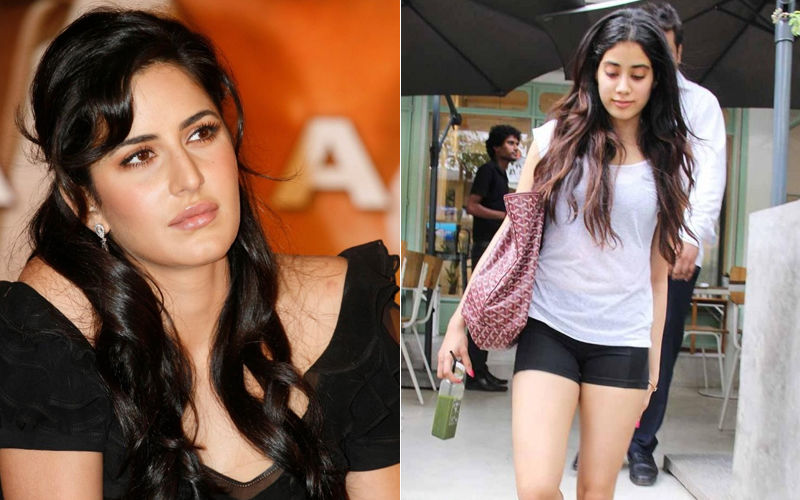 "Katrina Kaif Is Worried About Janhvi Kapoor's ""Very, Very Short Gym Shorts"""