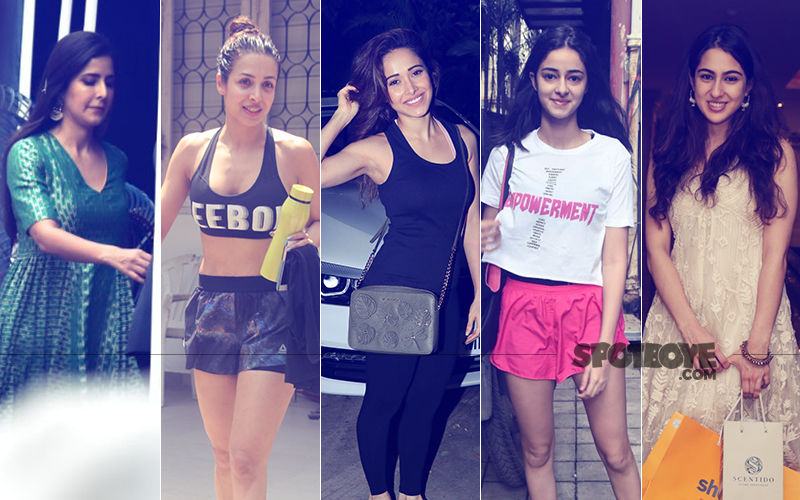 Katrina Kaif, Malaika Arora, Nushrat Bharucha, Ananya Panday, Sara Ali Khan: Clicks Of The Day