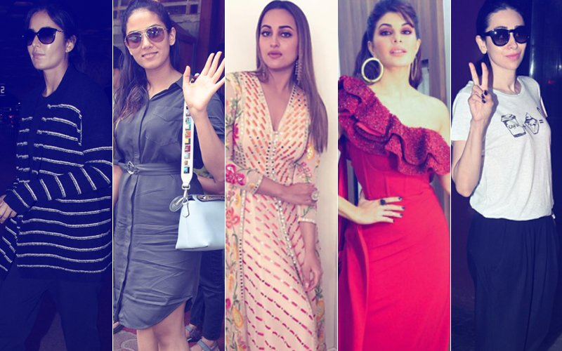 STUNNER OR BUMMER: Katrina Kaif, Mira Rajput, Sonakshi Sinha, Jacqueline Fernandez Or Karisma Kapoor?