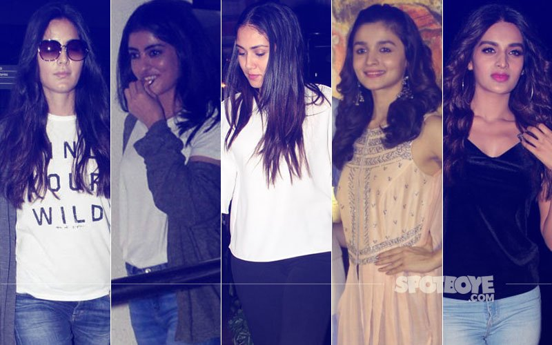 STUNNER OR BUMMER: Katrina Kaif, Navya Naveli Nanda, Mira Rajput, Alia Bhatt Or Nidhhi Agerwal?