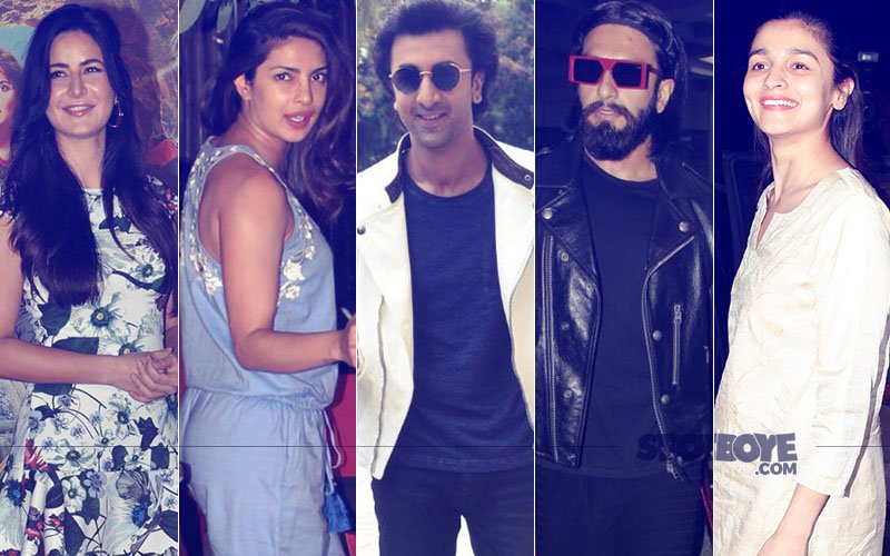 STUNNER OR BUMMER: Katrina Kaif, Priyanka Chopra, Ranbir Kapoor, Ranveer Singh Or Alia Bhatt?