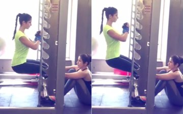 Workout Wednesday: Katrina Kaif Teaches How To Sit Without A Chair