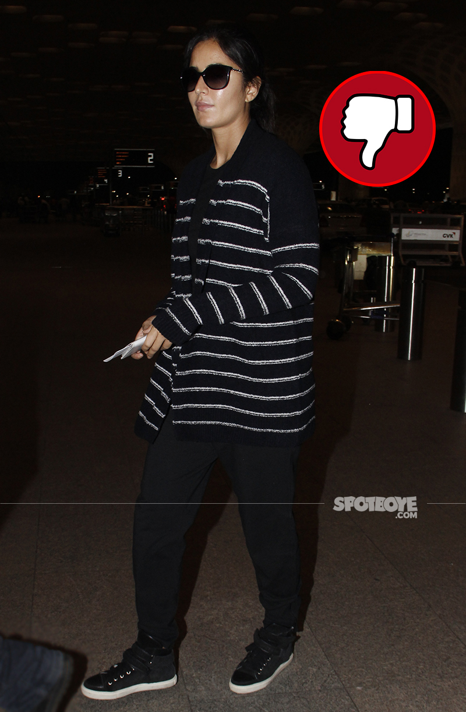 katrina kaif snapped at the airport