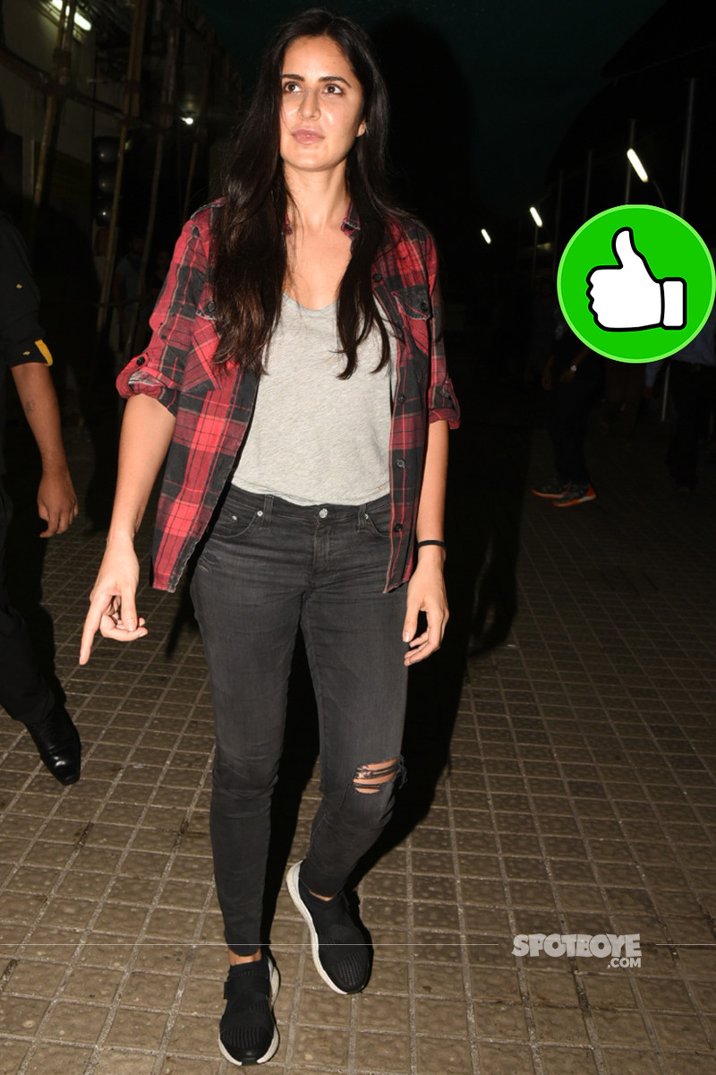 katrina kaif snapped post movie time