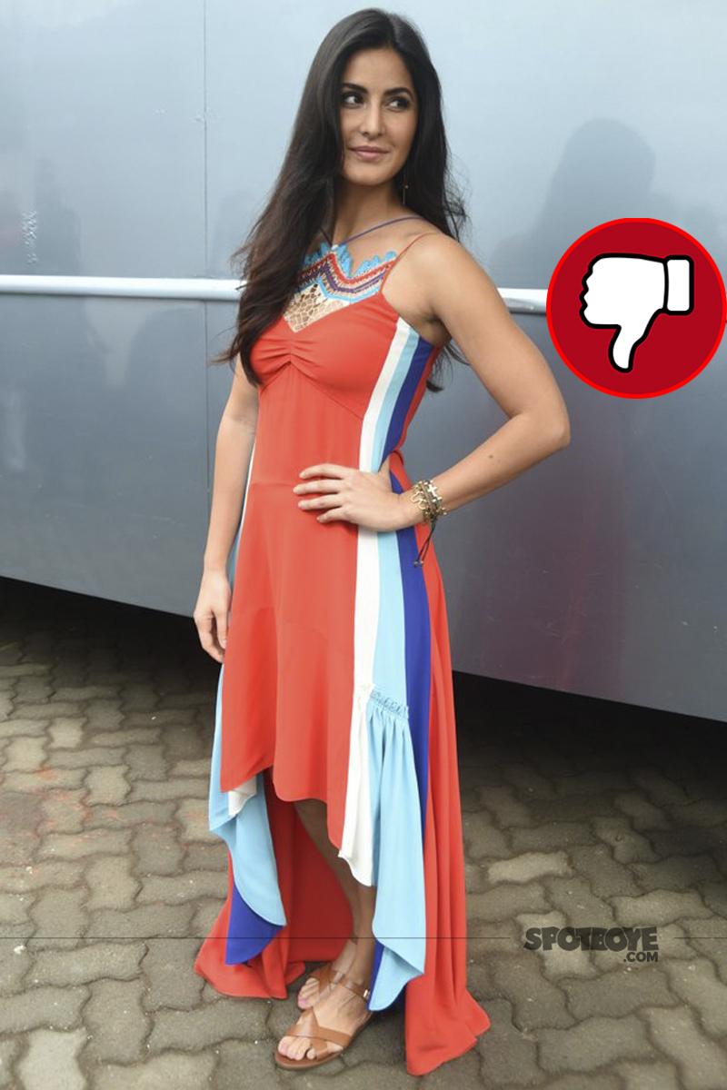 katrina kaif spotted at jagga jasoos promotions