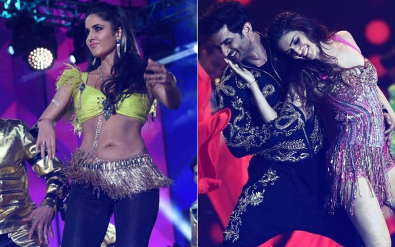 IIFA 2017: Katrina Kaif Takes To The Stage, Kriti Sanon & Sushant Singh Rajput Shake A Leg Together