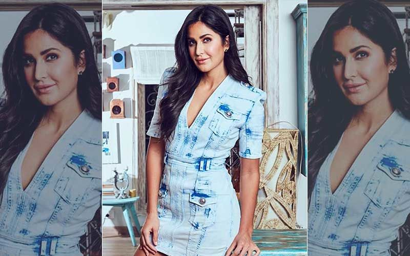 Katrina Kaif's Short Denim Dress' Price Will Make Your Jaw Drop To The Floor!