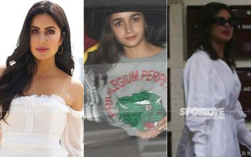 Katrina Kaif Hosts Ranbir Kapoor's GF Alia Bhatt And Priyanka Chopra At Her Residence; We're Loving This New BFF Union - PICS