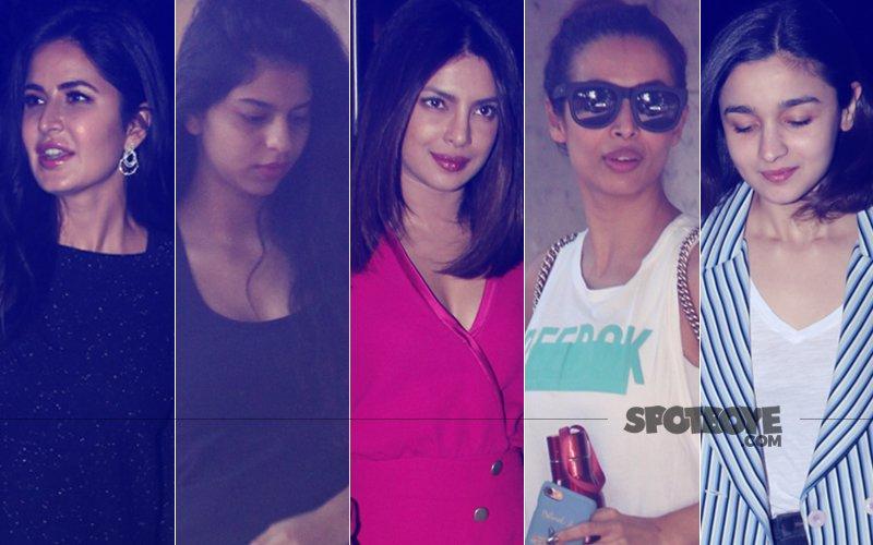 STUNNER OR BUMMER: Katrina Kaif, Suhana Khan, Priyanka Chopra, Malaika Arora Or Alia Bhatt?
