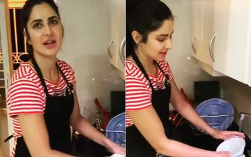 Coronavirus Lockdown: Katrina Kaif Does Dishes While Quarantined; Gives Cleaning Tutorial And An Important Kitchen Tip