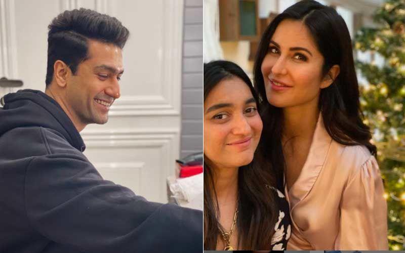 Vicky Kaushal Joins Rumoured Girlfriend Katrina Kaif For Christmas Celebration; Actor Gets Snapped Leaving Kaif's House