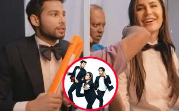 Phone Bhoot: Katrina Kaif Shares BTS Moments With Ishaan Khatter- Siddhant Chaturvedi Goofing Around On Set; Instagram Terms It As Sensitive Content