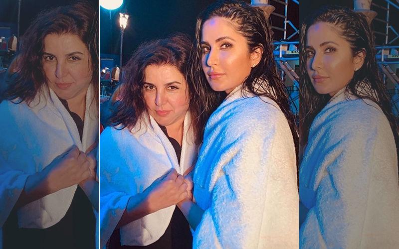 टिप-टिप बरसा पानी: आइकोनिक गाने की शूटिंग हुई पूरी, कैटरीना कैफ ने इंस्टाग्राम पर शेयर की तस्वीर