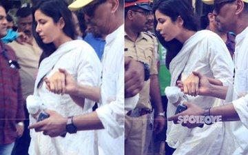 SRIDEVI FUNERAL: Amitabh Bachchan & Katrina Kaif Reach The Crematorium