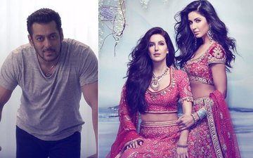 Oops! Salman Walks Out From Katrina's Sister Isabelle's Bollywood Debut