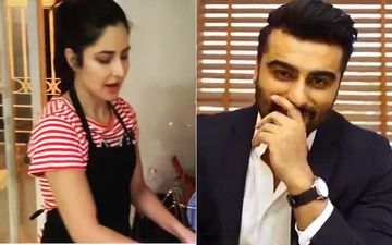 Arjun Kapoor Labels Katrina Kaif 'Kaantaben 2', Invites Her To His House As She Does Dishes And Gives Cleaning Tutorial