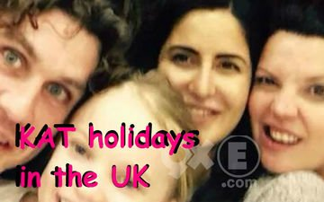 Kat With Her Family In Uk