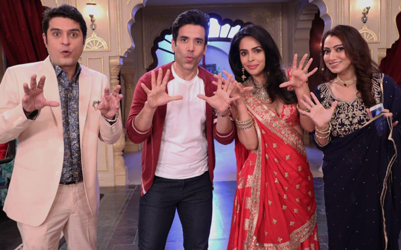 Kavach 2: Mallika Sherawat-Tusshar Kapoor Land Up At Namik Paul's House After Their Car Breaks Down