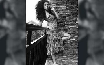 HOTNESS OVERLOADED: Kavita Kaushik Is Trying To Fly In Her Recent Post, Checkout The Post