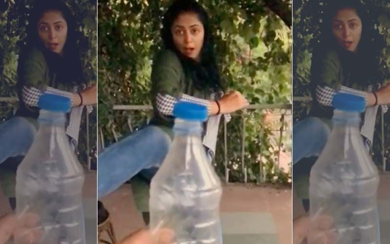 Kavita Kaushik Aces Bottle Cap Challenge- WATCH VIDEO