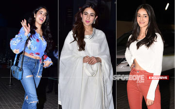 Kedarnath Special Screening: Sara Ali Khan's Contemporaries Of Tomorrow – Janhvi, Ananya Turn Up To Cheer