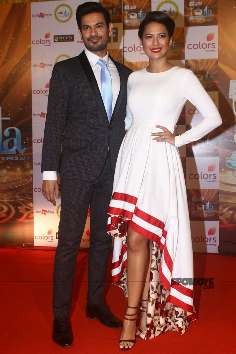 keith sequeira and rochelle rao at ita wards